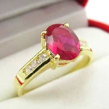 แหวนทับทิม แหวนทอง ฝังพลอยทับทิม พลอยสีแดง บ่าแหวนฝังเพชร