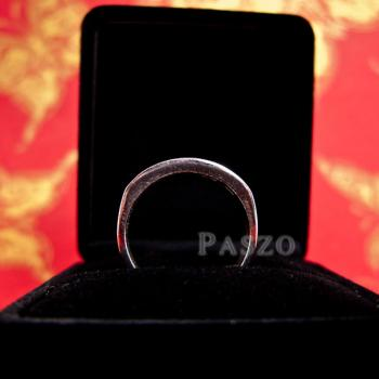 แหวนนามสกุล แหวนเงินแท้ หน้ากว้าง6มิล #5