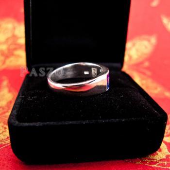 แหวนนามสกุล แหวนเงินแท้ หน้ากว้าง6มิล #6