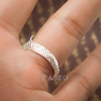 แหวนมังกร แหวนเงินแท้รูปมังกร แหวนปรับขนาดได้ #9