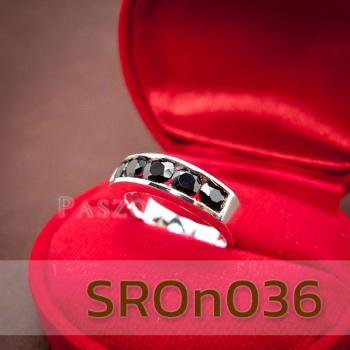 แหวนนิล แหวนพลอยแถว แหวนเงินแท้ #5