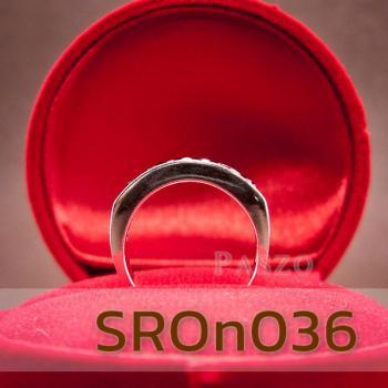 แหวนนิล แหวนพลอยแถว แหวนเงินแท้ #4