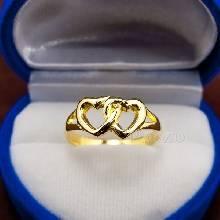 แหวนรูปหัวใจ แหวนทอง90