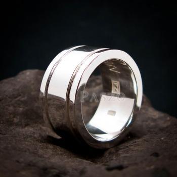 แหวนเซาะร่อง หน้ากว้าง12มิล หนา3มิล #3
