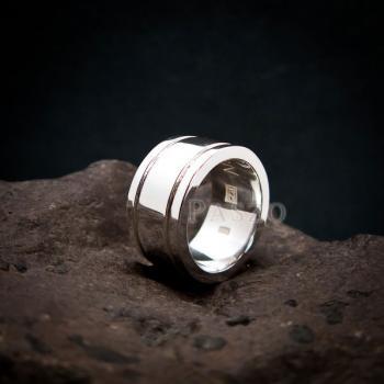 แหวนเซาะร่อง หน้ากว้าง12มิล หนา3มิล #2