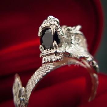 แหวนมังกร แหวนมังกร ตาฝังพลอมรกต #7