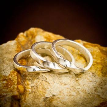 แหวนเงินแท้ แหวนเกลี้ยง  #2