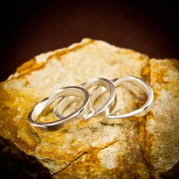 แหวนเงินแท้ แหวนเกลี้ยง  #3