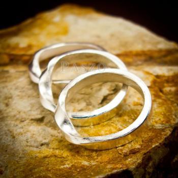 แหวนเงินแท้ แหวนเกลี้ยง  #4