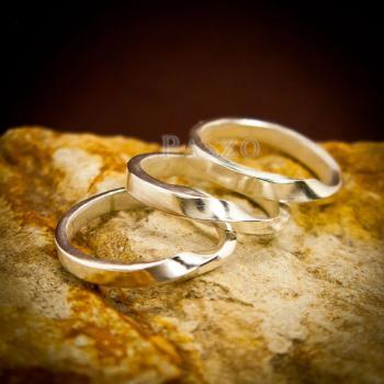 แหวนเงินแท้ แหวนเกลี้ยง  #5