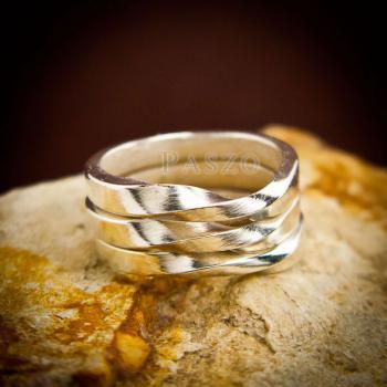 แหวนเงินแท้ แหวนเกลี้ยง  #8