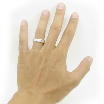 แหวนแกะลายทั้งวง หน้ากว้าง5มิล แกะสลักลายไทย #9