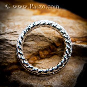 แหวนเงิน แหวนเกลียว แหวนเงินแท้ #3