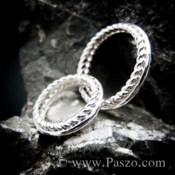 ชุดแหวนเงินคู่  แหวนเงินแท้ #3