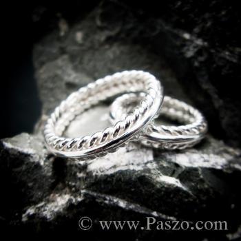 ชุดแหวนเงินคู่  แหวนเงินแท้ #5