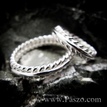 ชุดแหวนเงินคู่  แหวนเงินแท้ #7