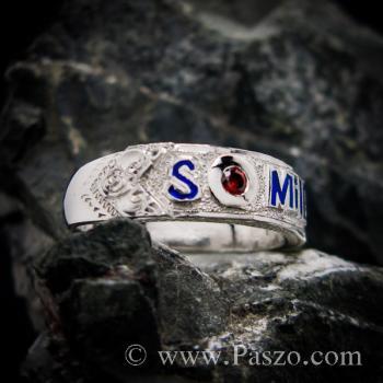 แหวนนามสกุล หน้ากว้างแหวน 7 #5