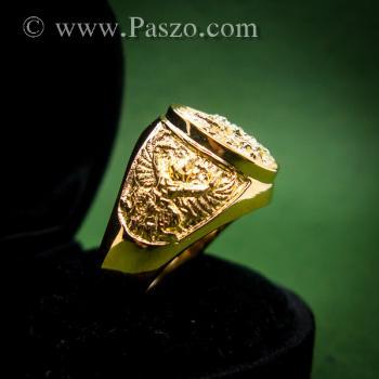 แหวนพญาครุฑ แหวนทอง90 แหวนทองผู้ชาย #2