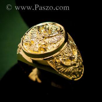 แหวนพญาครุฑ แหวนทอง90 แหวนทองผู้ชาย #5