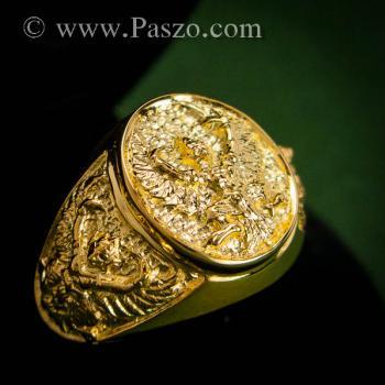 แหวนพญาครุฑ แหวนทอง90 แหวนทองผู้ชาย #6