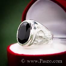 แหวนนิลผู้ชาย แหวนครุฑ แหวนเงินแท้ แหวนผู้ชาย