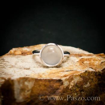 แหวนมุกดาหาร แหวนมูนสโตน แหวนเงินแท้ #2