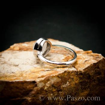 แหวนมุกดาหาร แหวนมูนสโตน แหวนเงินแท้ #5