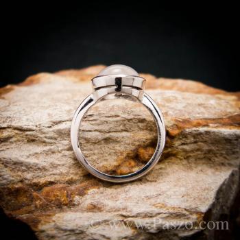 แหวนมุกดาหาร แหวนมูนสโตน แหวนเงินแท้ #6