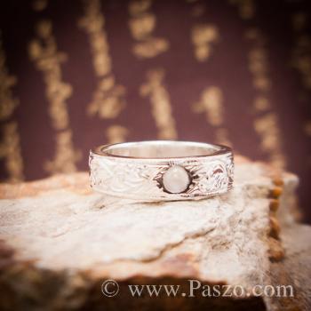 แหวนแกะลายไทย แหวนมุกดาหาร  #3