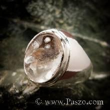 แหวนโป่งข่าม แหวนทรงมอญ แหวนเงินแท้ แหวนผู้ชาย