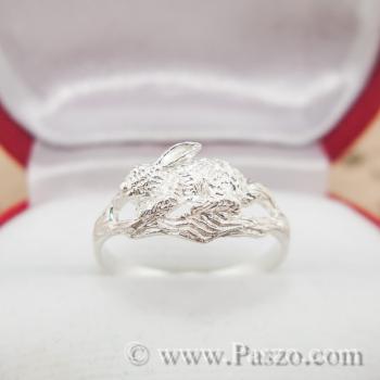 แหวนปีเถาะ แหวนปีกระต่าย แหวน12นักษัตร #3