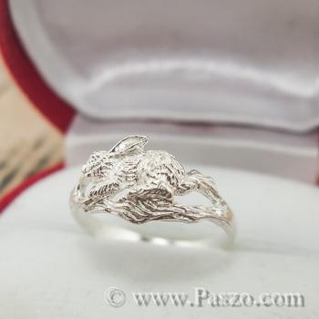แหวนปีเถาะ แหวนปีกระต่าย แหวน12นักษัตร #4
