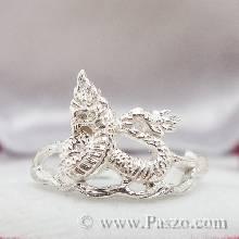 แหวนปีมะโรง แหวนปีงูใหญ่ แหวน12นักษัตร แหวนเงินแท้ แหวนงูใหญ่ แหวนพญานาค