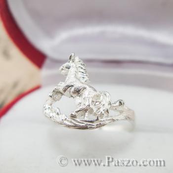 แหวนปีมะเมีย แหวนปีม้า แหวน12นักษัตร #4
