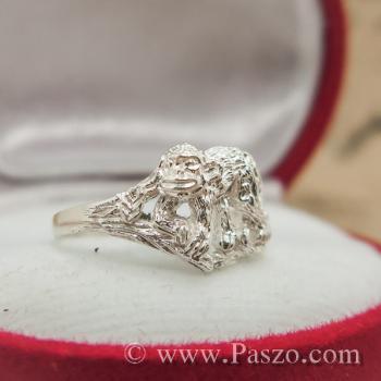 แหวนปีวอก แหวนปีลิง แหวน12นักษัตร #2