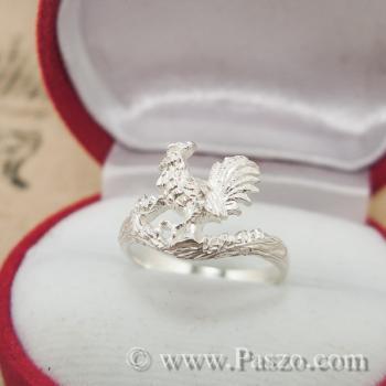 แหวนปีระกา แหวนปีไก่ แหวน12นักษัตร #4