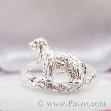 แหวนปีจอ แหวนปีหมา แหวน12นักษัตร แหวนเงินแท้