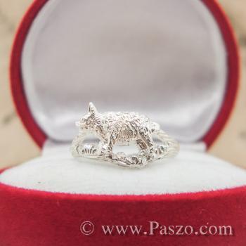 แหวนปีกุน แหวนปีหมู แหวนเงินแท้ #2