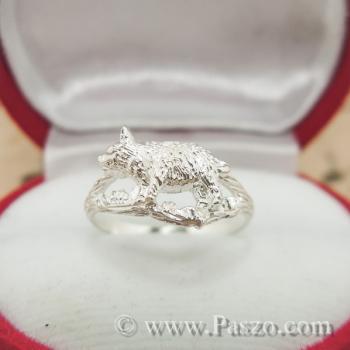 แหวนปีกุน แหวนปีหมู แหวนเงินแท้ #3