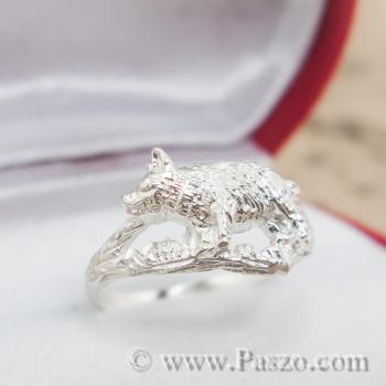 แหวนปีกุน แหวนปีหมู แหวนเงินแท้ #4