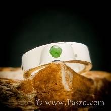 แหวนหยก แหวนเงินแท้ แหวนเกลี้ยง แหวนเงิน