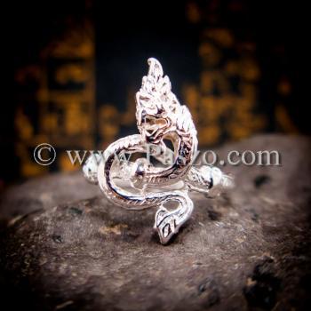 แหวนพญานาค แหวนเงินแท้ พญานาค #3