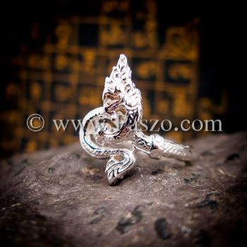 แหวนพญานาค แหวนเงินแท้ พญานาค #5