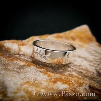 แหวนก้านใบมะกอก แหวนเงินแท้ แหวนแห่งชัยชนะ #3