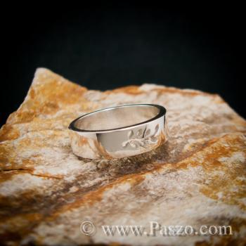 แหวนก้านใบมะกอก แหวนเงินแท้ แหวนแห่งชัยชนะ #4