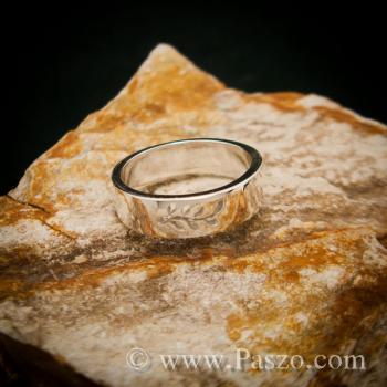 แหวนก้านใบมะกอก แหวนเงินแท้ แหวนแห่งชัยชนะ #2