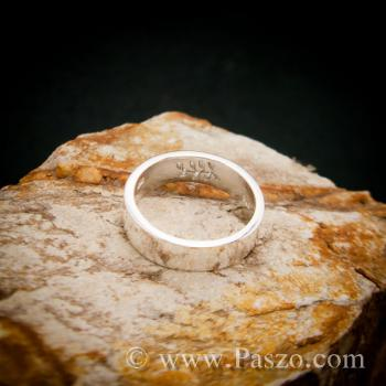 แหวนก้านใบมะกอก แหวนเงินแท้ แหวนแห่งชัยชนะ #5