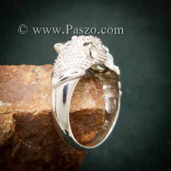 แหวนเสือ แหวนเงินแท้  #2