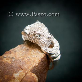 แหวนเสือ แหวนเงินแท้  #3
