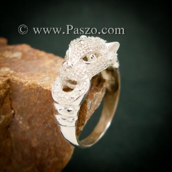 แหวนเสือ แหวนเงินแท้  #4